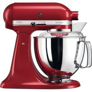 KitchenAid Artisan 4.8L Stand Mixer - Red-0
