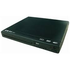 Akai DVD Player with USB and MP4-0
