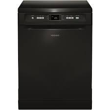 Hotpoint Extra Freestanding 60cm 13 Place Dishwasher - Black-0