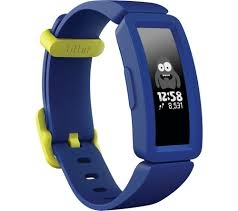 Fitbit Ace 2 Kids Fitness Tracker - Night Sky & Neon Yellow-0