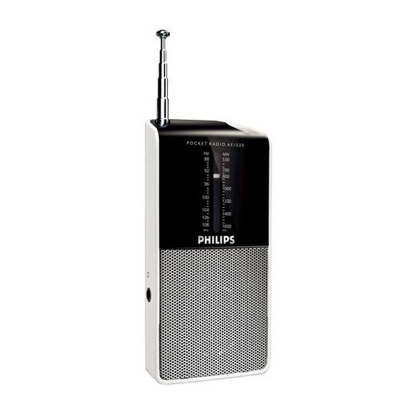 Philips Portable Radio AE1530 pocket size-0