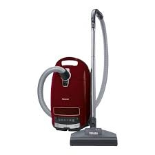 Miele Complete C3 Powerline Cat & Dog Vacuum - Red-0