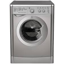 Indesit Washer Dryer Silver 6kg wash, 5kg Dry 1200-0