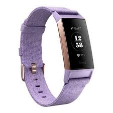Fitbit Charge 3 | Limited Edition | Lavender Woven/Rose Gold-0
