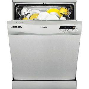 Zanussi 13 Place Freestanding Dishwasher -S/Steel-0