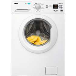 Zanussi 8kg 1200 Spin Lindo 100 Washing Machine I White-0
